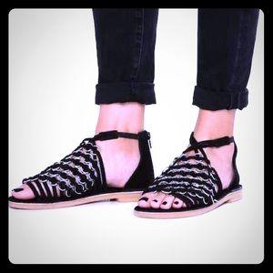 Musse & Cloud Monnie Suede Sandals